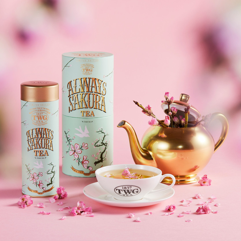 ティーカップに春の訪れを~Always Sakura Tea 2021~
