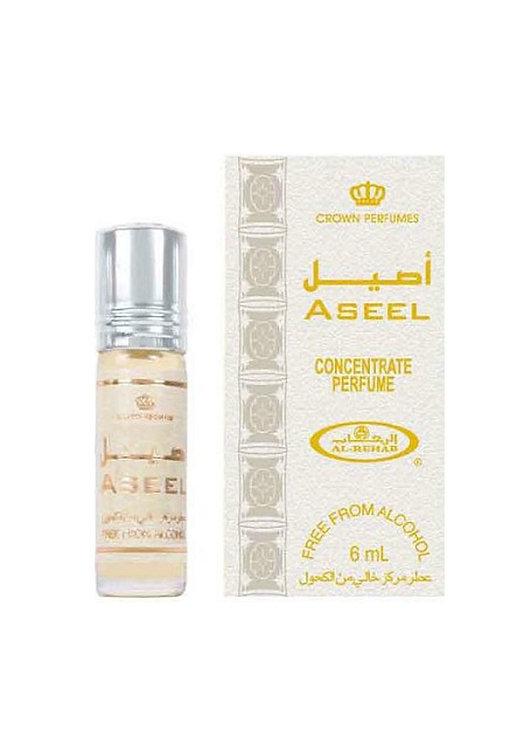 Crown Perfumes Aseel Perfume Oil by Al-Rehab Alcohol Free Halal