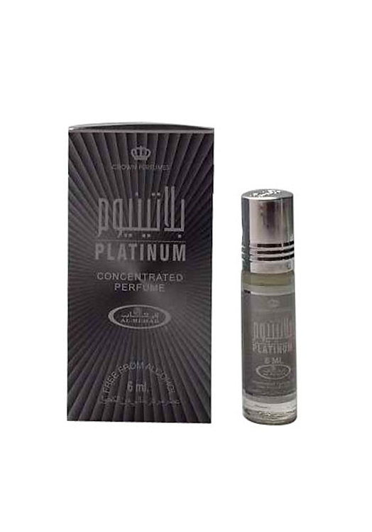 Crown Perfumes Platinum Perfume Oil by Al-Rehab Alcohol Free Halal