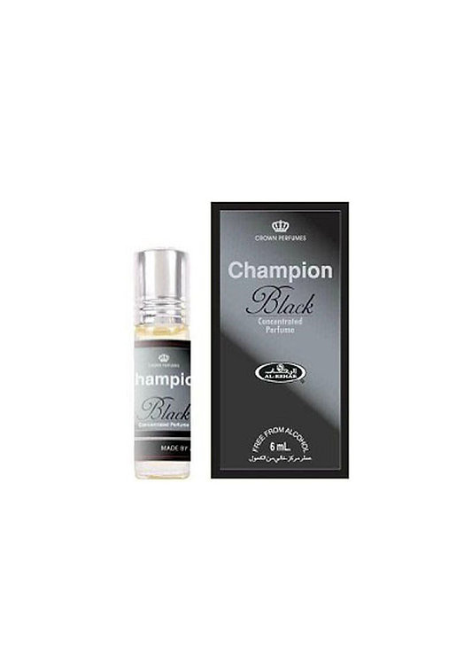 Crown Perfumes Champion Black Perfume Oil by Al-Rehab Alcohol Free Halal