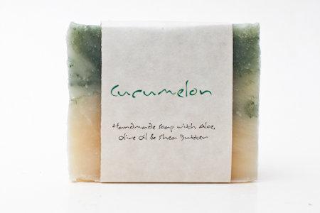 Cucumelon Soap Bar