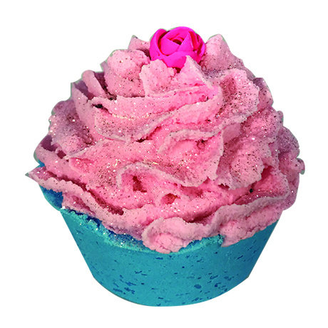 5OZ. MADLY IN LOVE CUPCAKE BATH BOMB
