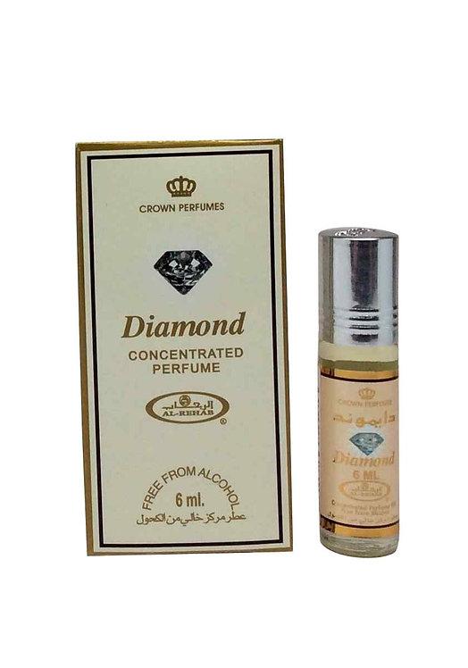 Crown Perfumes Diamond Perfume Oil by Al-Rehab Alcohol Free Halal