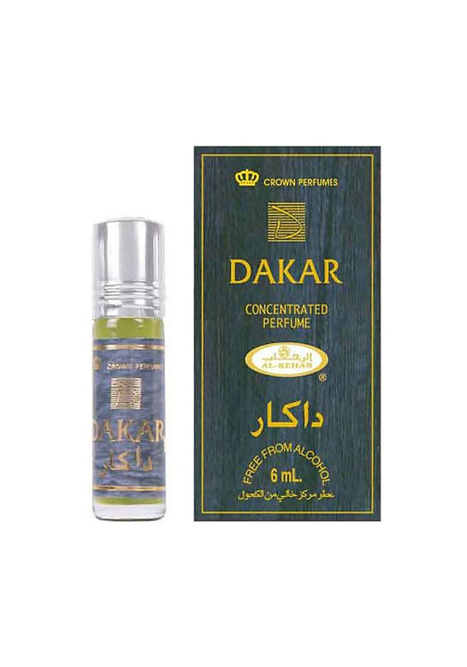 Crown Perfumes Dakar Perfume Oil by Al-Rehab Alcohol Free Halal