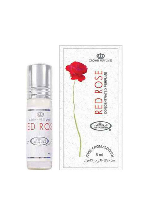 Crown Perfumes Red Rose Perfume Oil by Al-Rehab Alcohol Free Halal