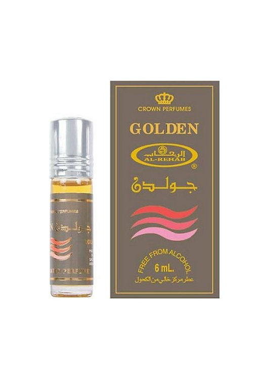 Crown Perfumes Golden Perfume Oil by Al-Rehab Alcohol Free Halal