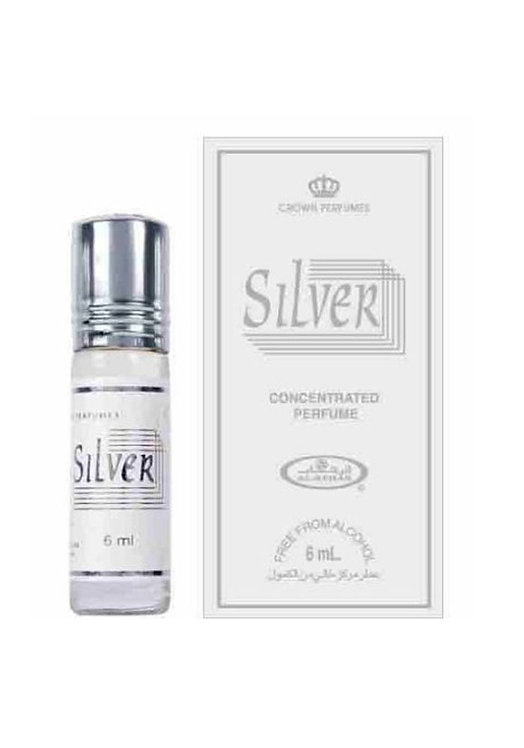 Crown Perfumes Silver Perfume Oil by Al-Rehab Alcohol Free Halal