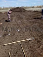 Ленточный фундамент для жилого дома в поселке Весенний 2