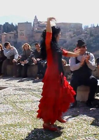 Mira la Alhambra que bonita es