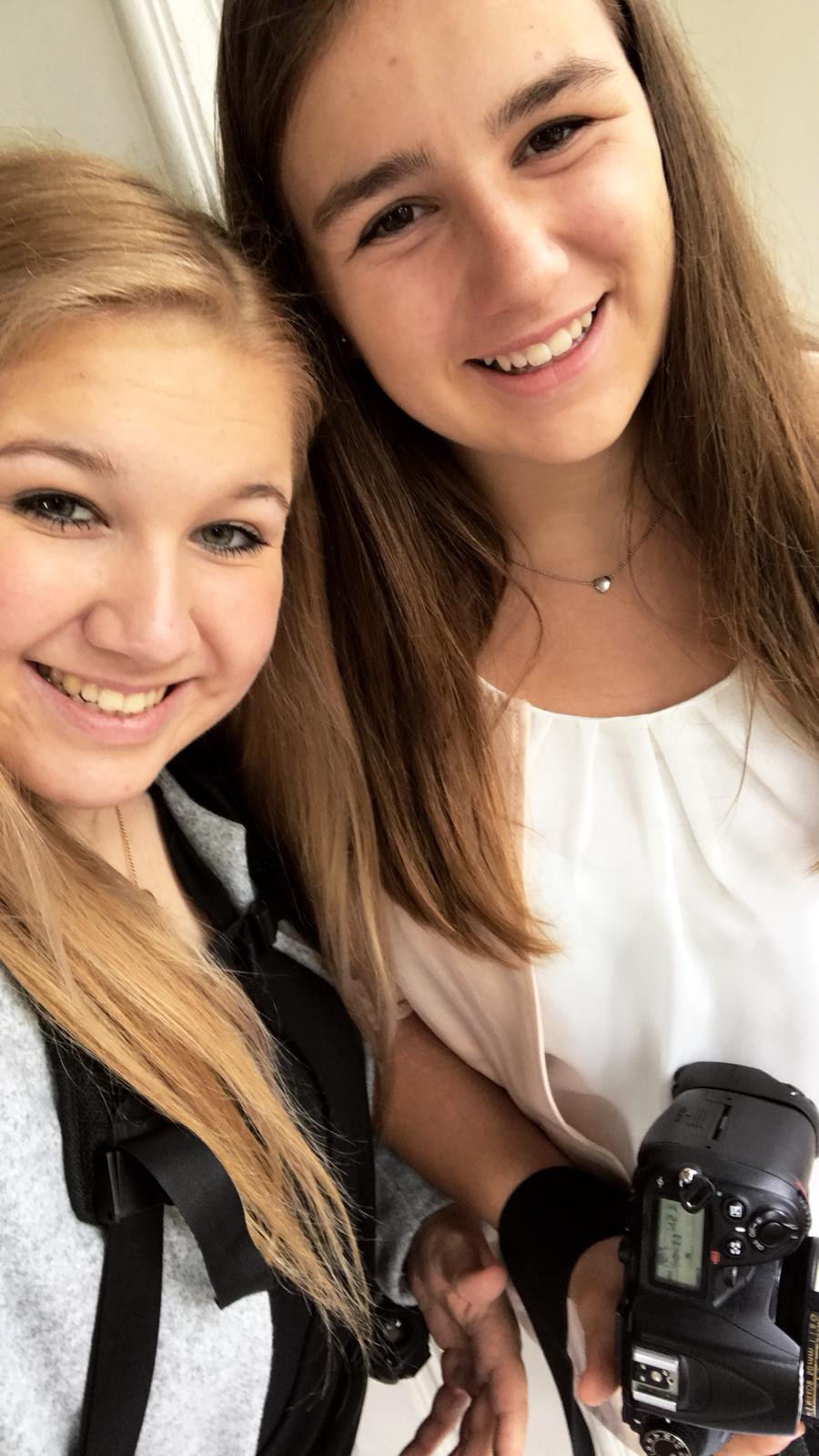 Von Marika und mir gibt's leider nur ein Selfie ;)
