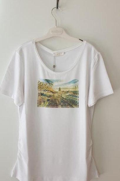Tee-Shirt blanc Havana AIREFIELD