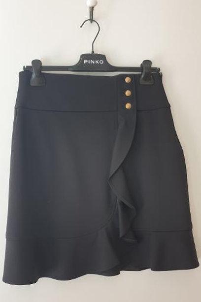 Jupe noire volant PINKO