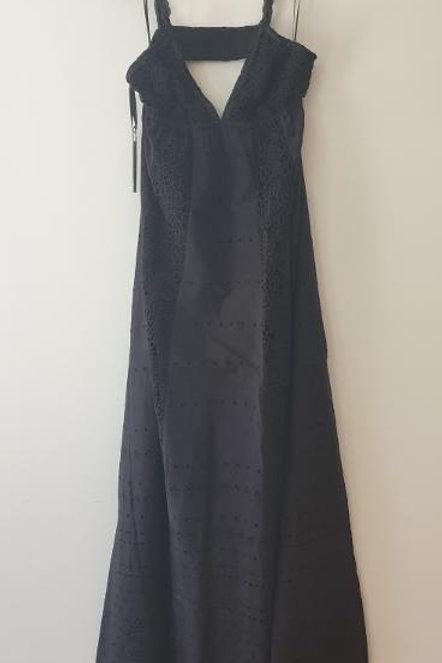 Robe bretelles noire PINKO