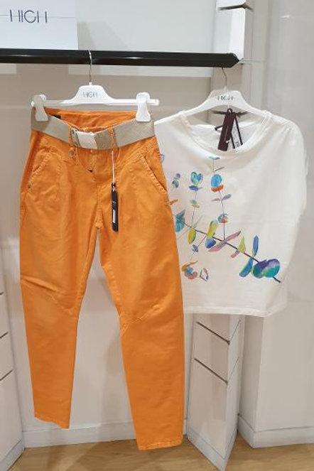 Pantalon orange High