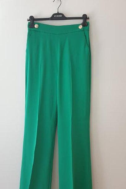 Pantalon vert PINKO