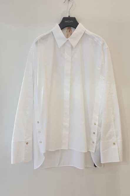 Blouse blanche ample