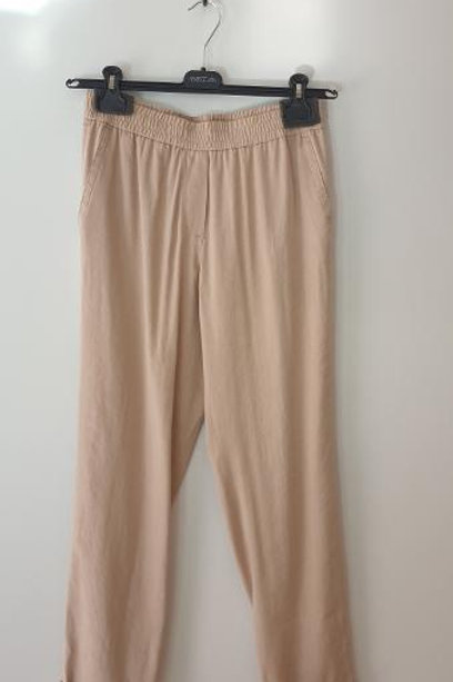 Pantalon lin beige MARCCAIN