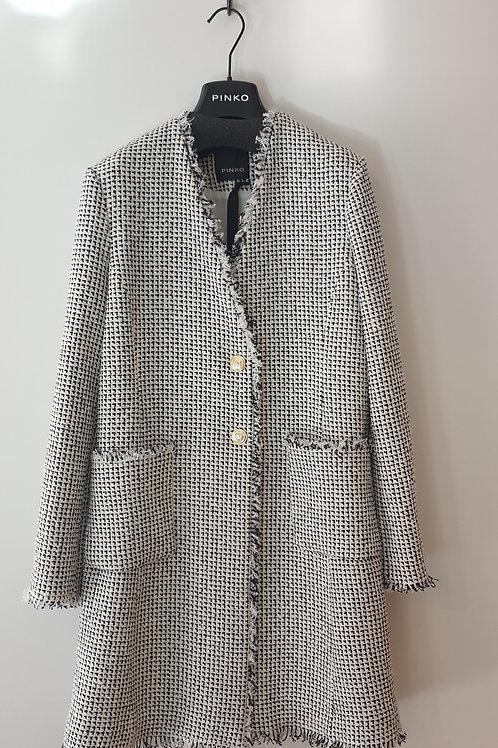 Manteau blanc et noir PINKO