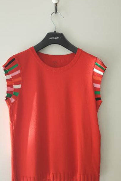 Top rouge MARCCAIN