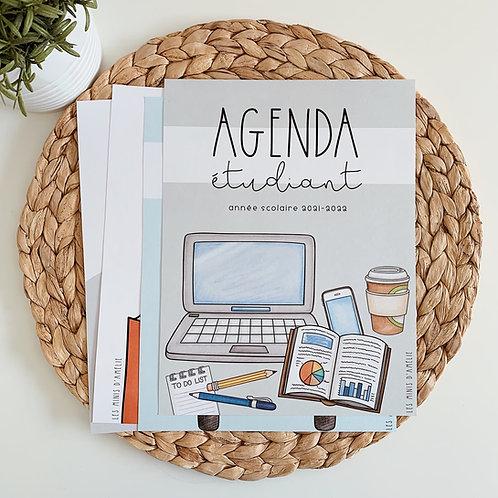 agenda étudiant 2021-2022