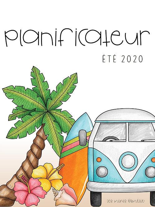 Planificateur CPE/garderie - Été 2020