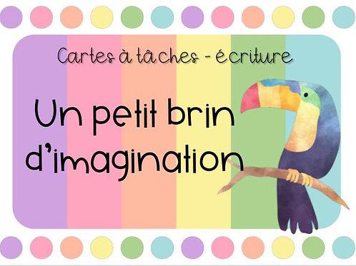 Cartes à tâches - Un brin d'imagination