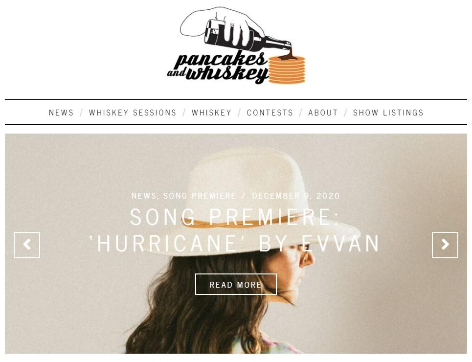 evvan - hurricane - pancakes and whiskey