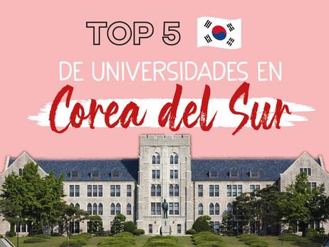 Las top 5 Universidades en Corea del Sur