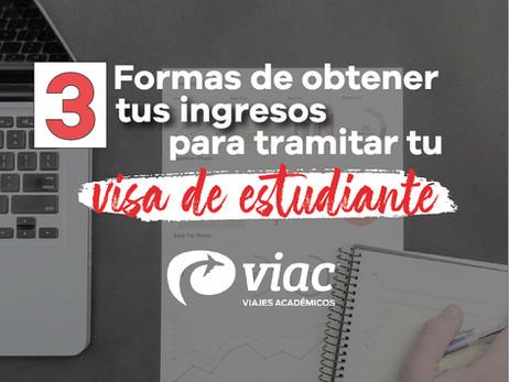 3 Formas de demostrar tus ingresos para tramitar tu visa de estudiante