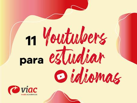 11 YouTubers para estudiar idiomas