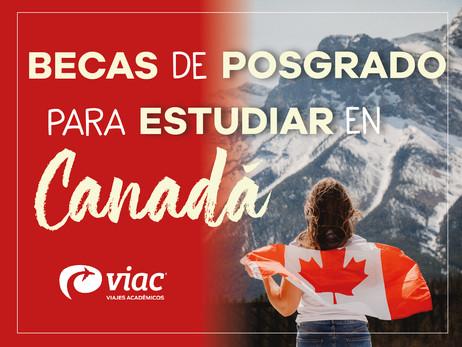 ¡Becas de investigación para estudiar en Canadá!