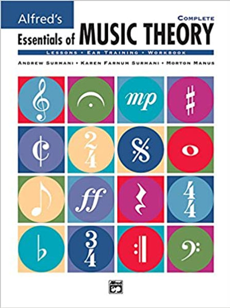 Alfred's Essentials of Music Theory Complete Spiralbound