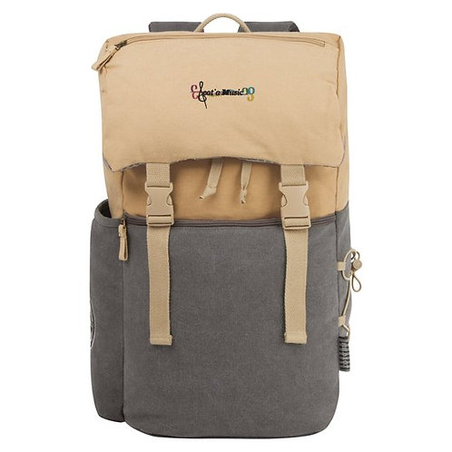 Scotia Music Embriodered Backpack