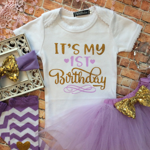 11540a4ec Pink and gold first birthday outfit first birthday outfit first t