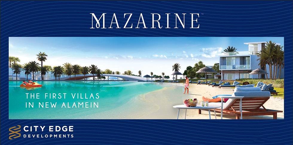 Mazrine Villas in New Alamein City