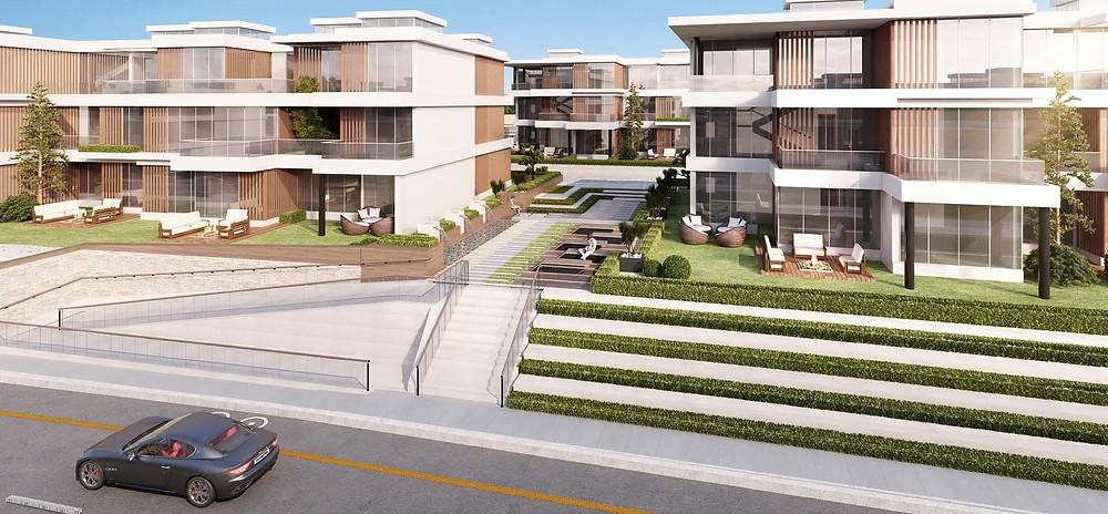 The apartment renders in Matangi, Oriental Coast