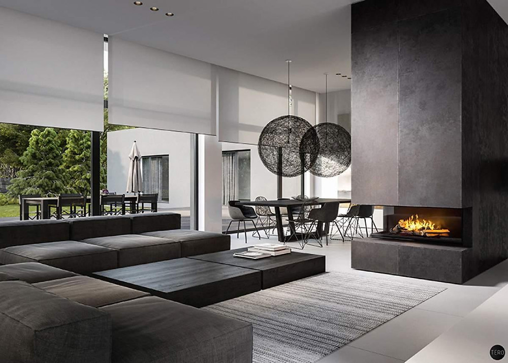 Interior designs in The Capitalway