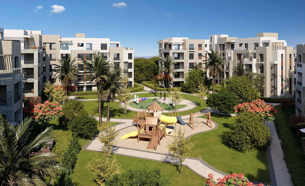 Clubside Apartments in District Five New Cairo