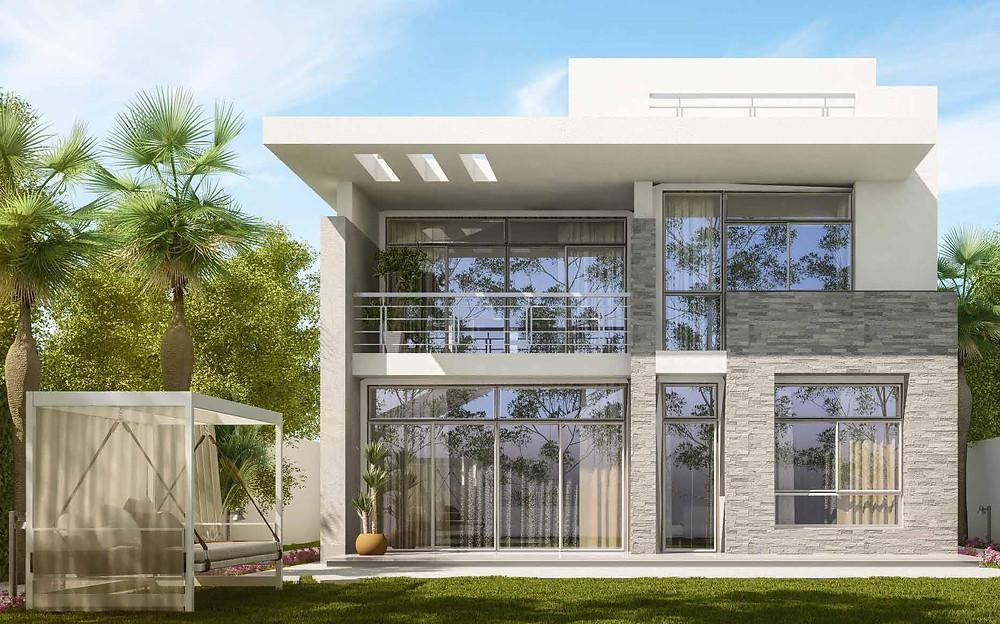 Modern Design of standalone villa in Almaqsad New Capital
