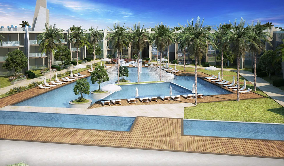 Pools in The House & Hotel Residence Royale