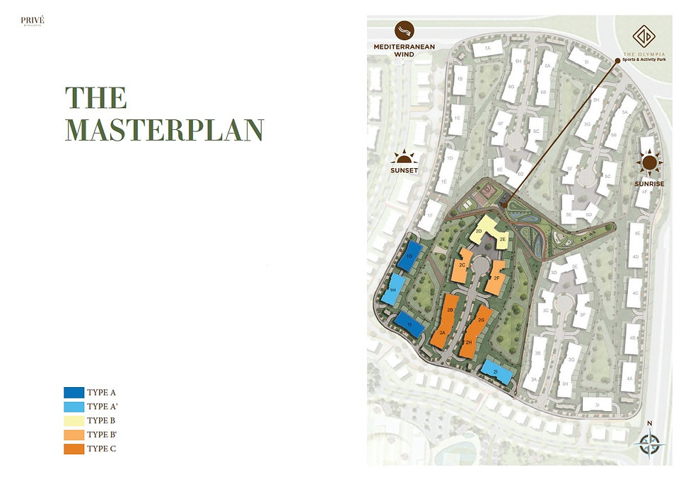 Master Plan for Prive By Villette New Ca
