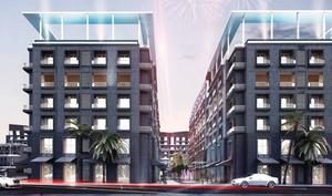 Architectural design of Park Lane
