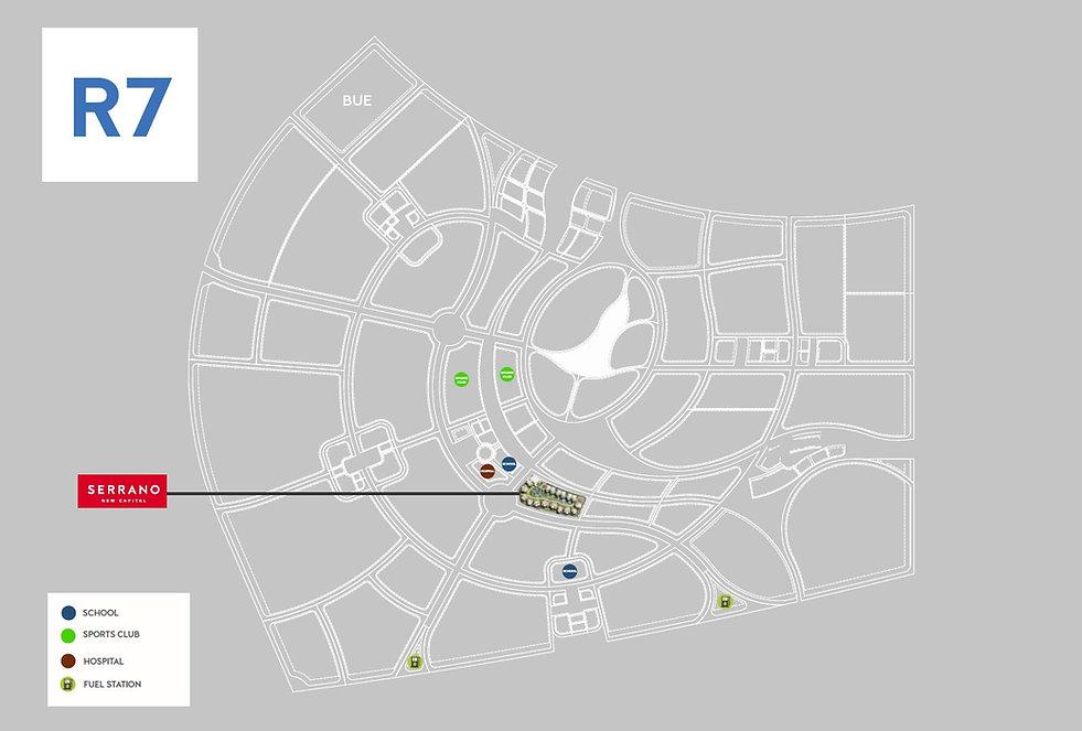 Serrano New Capital Location in R7