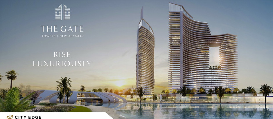 The Gate Towers New Alamein: Seafront Luxury Living