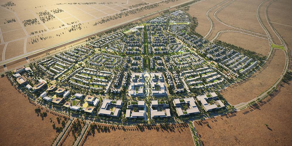 master plan of VYE New Zayed