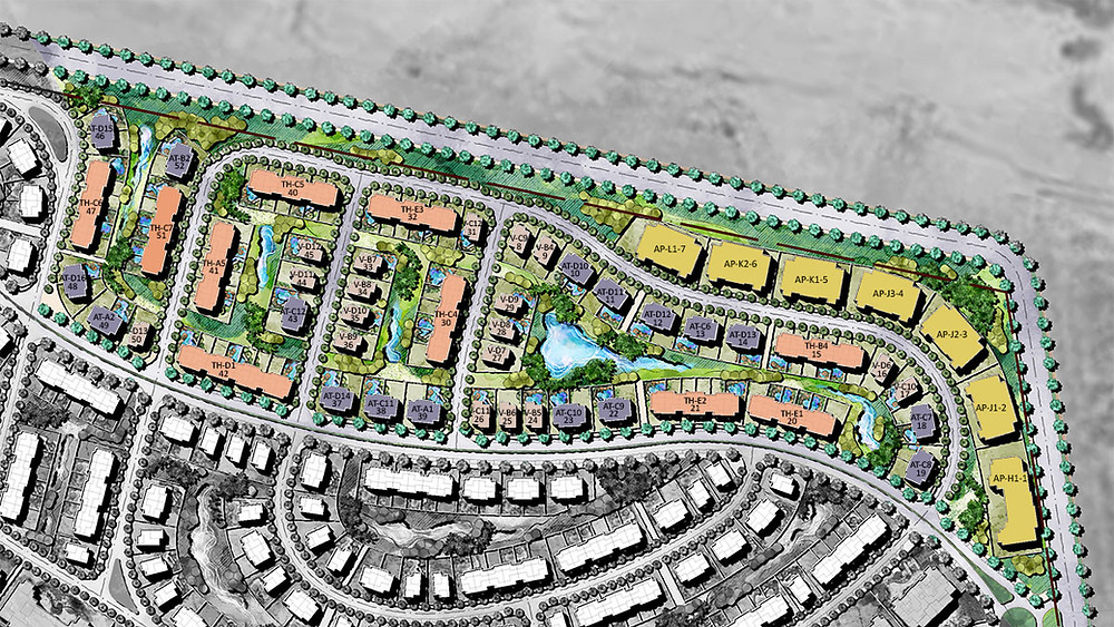 Phase 2 master plan in  Joulz Development in West Cairo by Inertia Egypt