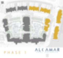 Alcamar Sahl Hasheesh Phase one master plan