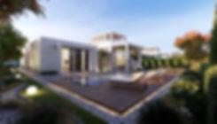 O West single storey standalone villa design