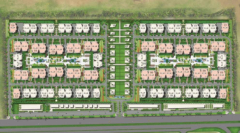 Master plan for Address East Compound fr