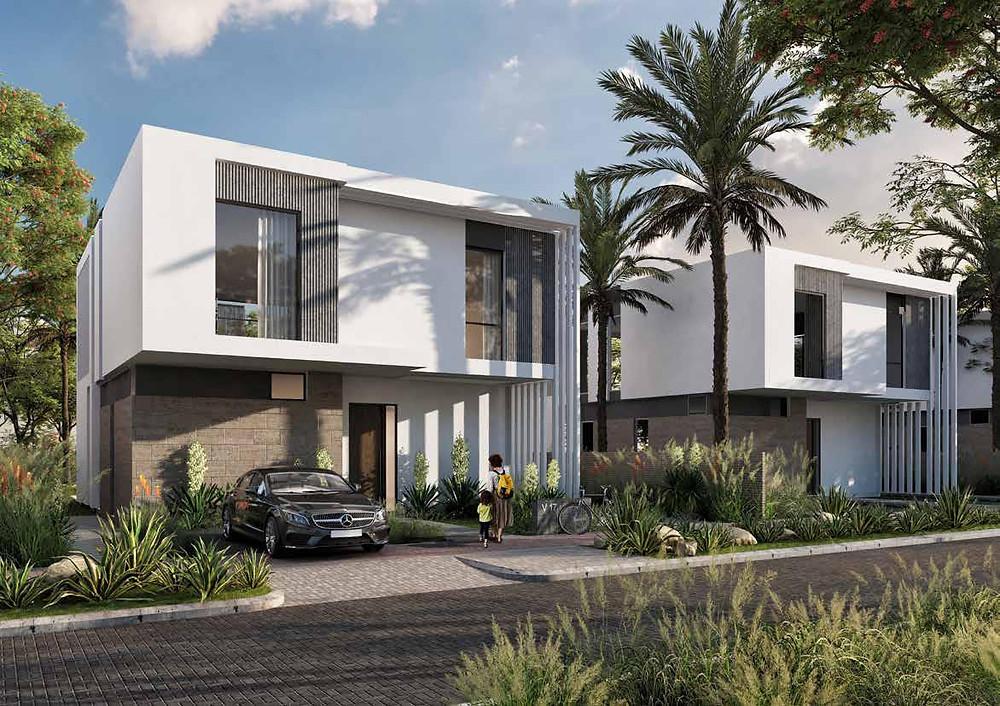 Type B Standalone villas in Zed East